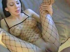 Sexy Lani Lane folla en balancines