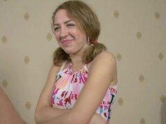 Casting porno anal de chica teen rusa.