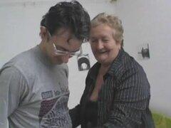 Gorda abuela Grannie italiano le encanta Anal y Cum, mi número de video!!