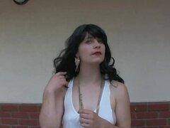 Chica hirsutas Orlan Doe coño peludo peluda de las axilas sin afeitar piernas Cum sobre Bush