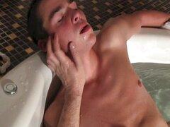 Bañera de hidromasaje handjob