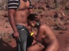 threesome fuck orgy with african babe. threesome safari fuck orgy with a hot chocolade african babe