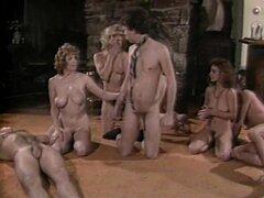 Ginger Lynn Allen, Tom Byron, Pamela Jennings in vintage xxx site,