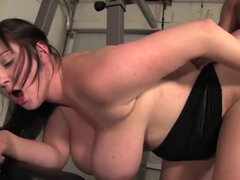 Flexible BustyBbw Babe wants to get paid to exercise. Flexible BustyBbw Babe wants to get paid to exercise