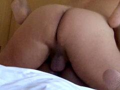Estrella porno Ana Loxx interracial casting 2a parte. Estrella porno Ana Loxx muestra en la segunda parte de su acción de casting porno, ahora actuando en una puta acción con el actor porno Cane