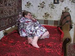 Abuela caliente follando