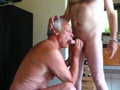 chupar de hombre viejo