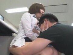 Increíble japonesa puta Aya Eikura, Risa Sanada en mejor estilo perrito, video público JAV