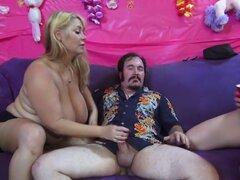 Loco estrellas porno Nikki Sexx y Samantha 38G en dildostoys exóticas, bbw xxx clip,