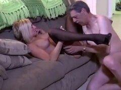 Video casero exótica con fetiche, escenas de las medias,