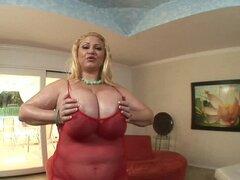 Senorita madura con enormes tetas disfruta shagging doggy - Samantha 38G