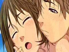 Hottie desnuda en Hentai Vid