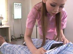 Chica japonesa Ayumi Kobayashi en JAV mejor escena de mamada sin censura