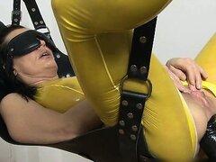 Dirty brunette slut gets her ass fucked part6