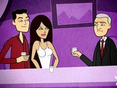 CELEBRITY sexo cuentos, Ep.9 temporada 1. Richard Grieco, Adrianne Curry y Barry Williams decir sus sextales más salvaje y más loco!