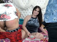 Morena Caliente madura Webcam Masturbación