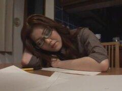 Puta japonesa caliente Misa Yuuki, Tsukasa Minami, Ryoko Murakami en Cunnilingus fabuloso, clip lesbianas JAV