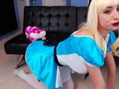 Enormes tetas Alicia en babe webcam de país de las maravillas, maldito son unos tetas caídas!!!!