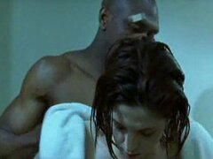 Morena mujer blanca con hombre negro - Interracial de Softcore