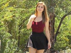 Lindsey flashing outdoors