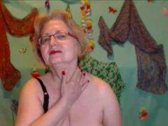 Americana rubia madura masturbandose en Webcam. Rubia americana caliente madura masturbándose en Webcam