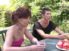 Alice Black joins a kinky outdoor orgy with horny friends - Alice Black,Zaza La Coquine,Louise Du Lac