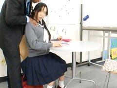 Polla de succión de colegiala japonesa