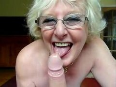 Sucia abuela británica