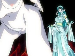 Anime Chica bondaged por bruja