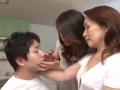 Maki Hojo esposa puta y su madre Yuri Takahata,