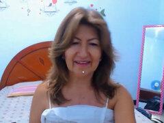 Invitando Amateur Abuela Ninfómana. Indecente amateur abuelita flirt en la vivir stream