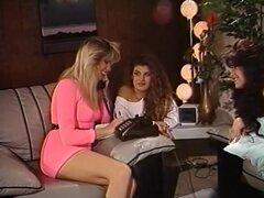 Estrellas porno loco Stacy Nichols y Nikki Wilde en las lesbianas, pelicula porno 69,