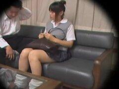 Impresionante teen puta dicked en cam spy sexo japonesa video, nerd pero muy follable teen japonesa disfruta de algunos golpes hardcore en este rizado voyeur sexo japonesa video y parece más grande. Ella realmente sabe cómo disfrutar de una gran erección.