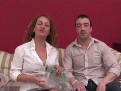 Pareja española Amateur anal Casting porno