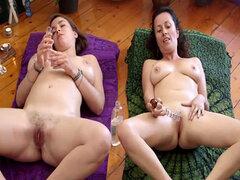 MILF y lesbianas amateur