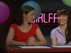 Fascinating girl to girl cast discuss their erotic films production - Dana Dearmond, Samantha Ryan