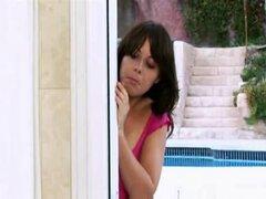 Dos lesbianas en la ducha