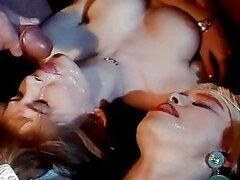 Retro video porno con rubia sexy follada duro