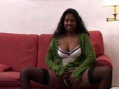 India morena caliente sexy tiene sexo anal