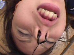 JapaneseBukkakeOrgy: Bukkake en la escuela uniforme 2. Una colegiala cachonda tiene una semana agitada, como lo hace con una horda de tíos y galones de polla recibiendo follada y chupando polla tras polla, esta puta no conoce límites como ella ahoga sobre