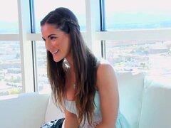 HD CastingCouch-X-Molly Jane con tetas naturales audición para sexo
