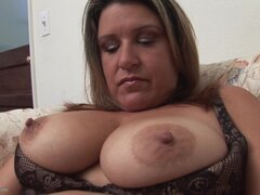 Chubby Angie C is a horny housewife in need of an orgasm - Angie C.