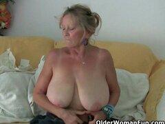 ¡La abuela necesita un orgasmo ahora mismo!