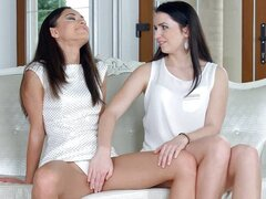 First time by Sapphic Erotica touch my pussy
