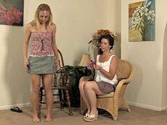Dos lesbianas maduras