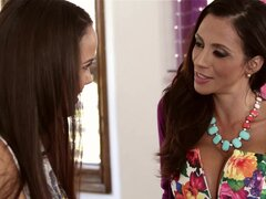 MommysGirl Step-Mom and Dillion Harper Trib Horny Pussies