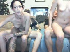 Parejas liberales Webcam divertido
