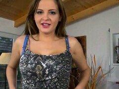 Candy Alexa amatuer brunette pussy a bomb ass Russian babe