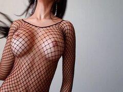 Abella anderson bailando desnuda en su cuarto