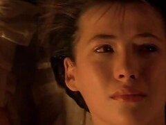Caliente jovencita inocente adolescente Sophie Marceau llorando luego de su primer orgasmo